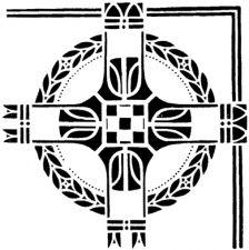 Трафарет Угол 2-914