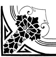 Трафарет Угол 2-953