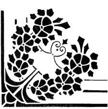 Трафарет Угол 2-958