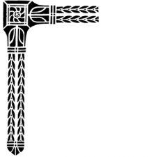 Трафарет Угол 2-1370