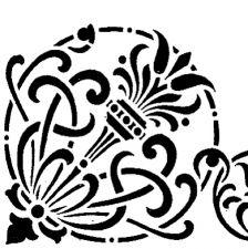 Трафарет Угол 2-1419