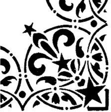 Трафарет Угол 2-1421