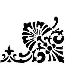 Трафарет Угол 2-1648