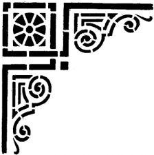Трафарет Угол 2-1752