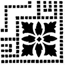 Трафарет Угол 2-2474