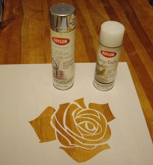 Роза объемная нарисованная
